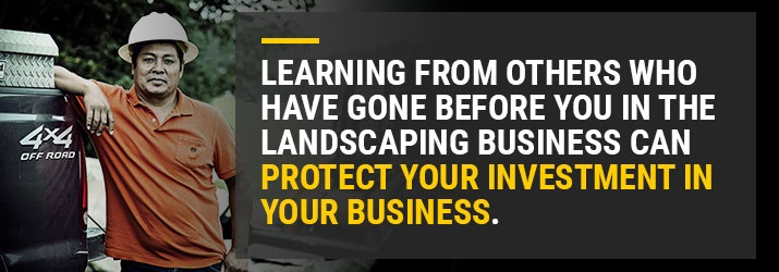 Learning Landscaping Business