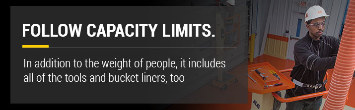 Aerial Lift Capacity Limits
