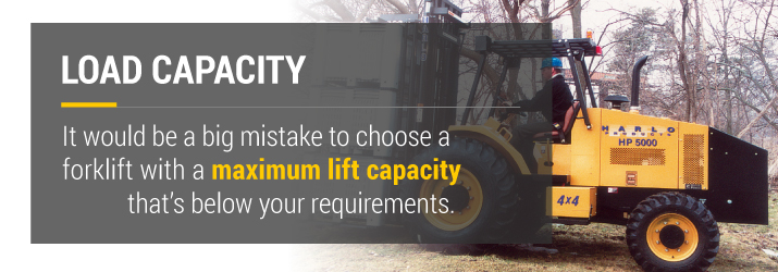 Load Capacity For Forklifts