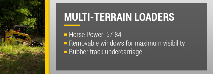 Rental Multi Terrain Loaders