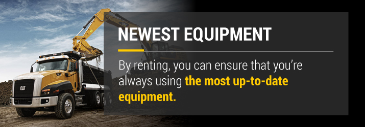 Rental Equipment That Will Give you the Best Bang for Your Buck