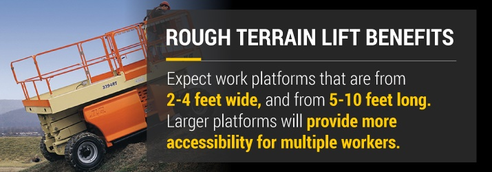 Rough Terrain Lift Benefits