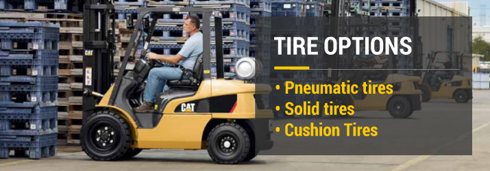 Tire Options for Forklifts