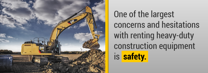 Heavy-duty construction Equipment Safety Concerns