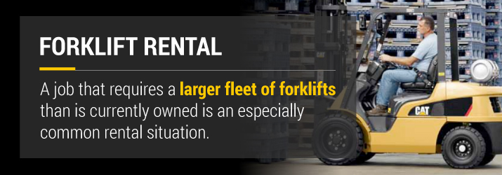 Forklift Rental Fleet