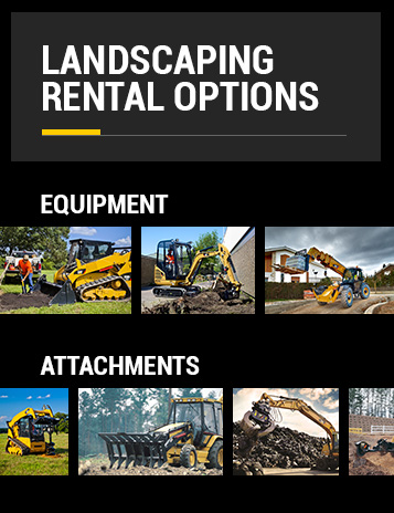 Rental Landscaping Equipment