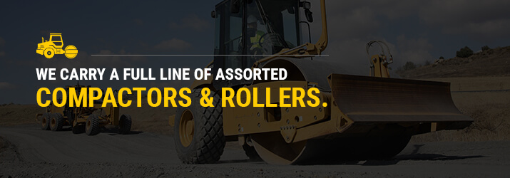 Rental Equipment for Road Construction & Maintenance