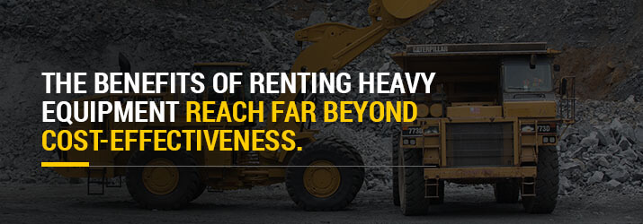 benefits renting heavy