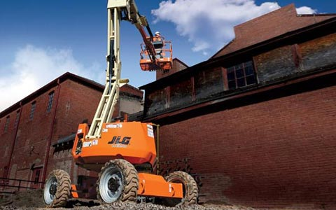 electric boom lift rental