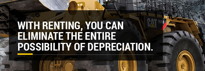 eliminate depreciation