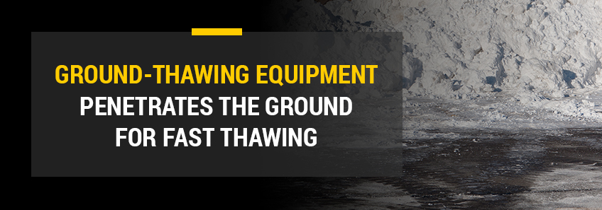 ground thawing equipment