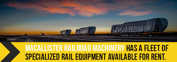 macallister rail equipment