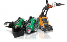 mini skid loader rental