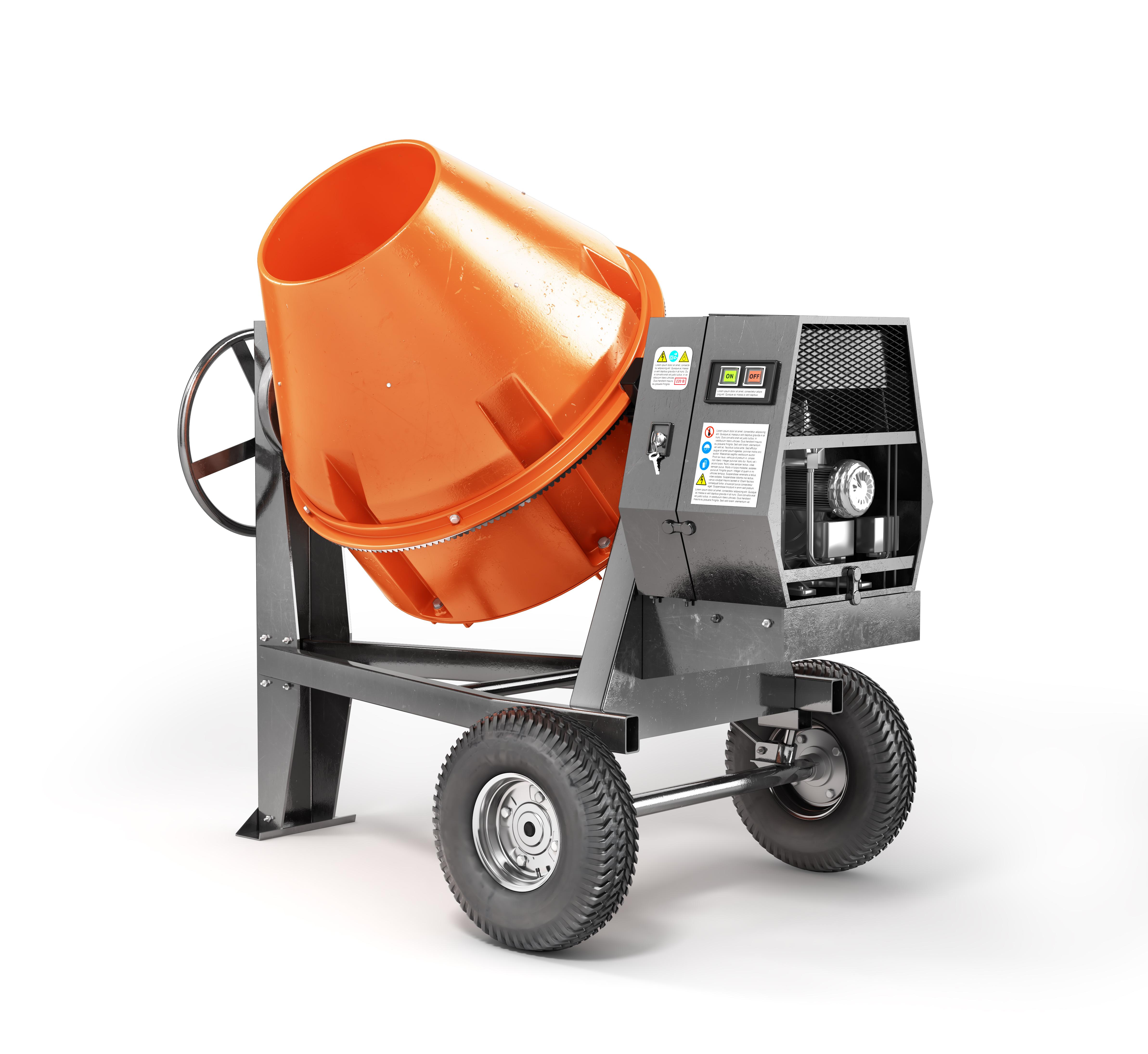 mortar mixer rental