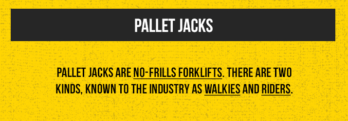 pallet-jack types