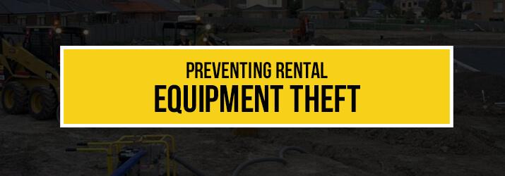 prevent equipment theft