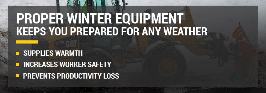 proper winter equipment