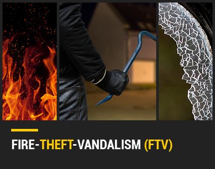 Fire-theft vandalism