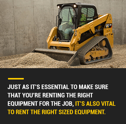 right size equipment