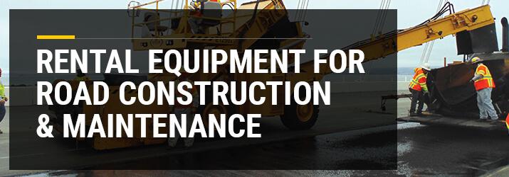 road construction equipment rental