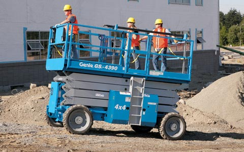 Rent Rough Terrain Scissor Lift | Scissor Lift Rentals