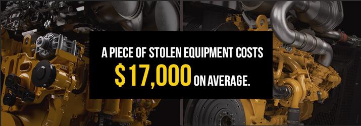 stolen equipment value