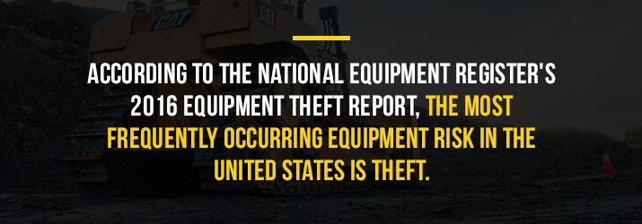 theft is common