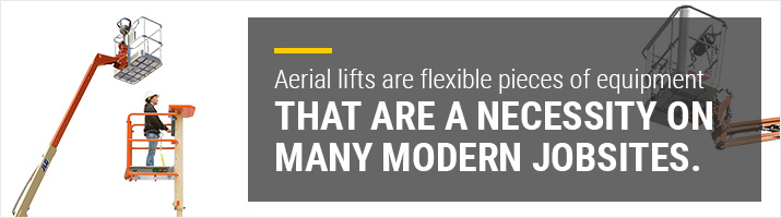 what are aerial lifts