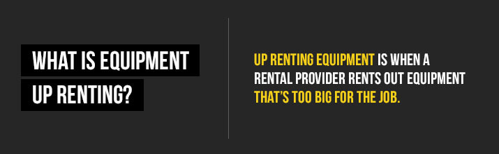 what is up renting