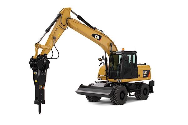 wheel excavator rental